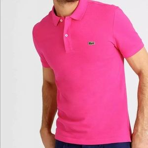 Lacoste polo shirt new $89 msrp